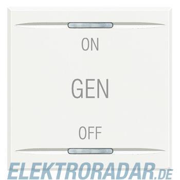 "Legrand HD4911M2AF ""Symbolwippe für Tastsensor mit 2 Funktionen """"ON-"