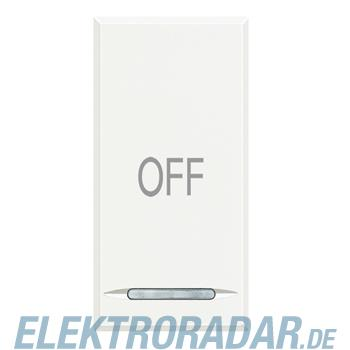 "Legrand HD4915AA ""Symbolwippe für Tastsensor mit 1 Funktion """"OFF"""""