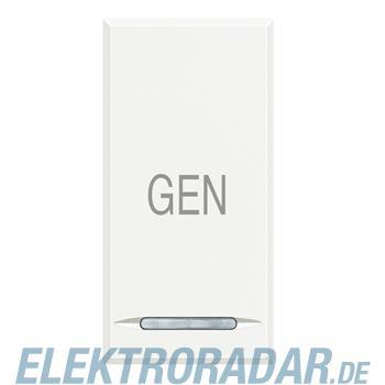 """Legrand HD4915AC """"Symbolwippe für Tastsensor mit 1 Funktion """"""""GEN"""""""""""