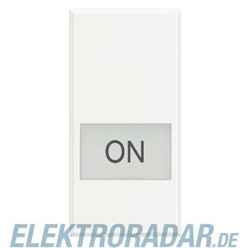 """Legrand HD4921LM """"Symbolwippe für Axialschalter bedruckt mit """"""""ON"""""""""""