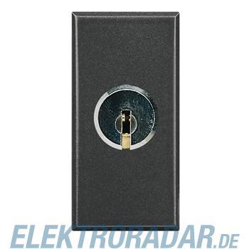 Legrand HS4012 Schlüsselschalter 2-polig 16A 250V AC mit Schlüsse