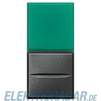 Legrand HS4038V/12 Axialtaster mit Beleuchtung 1-polig Schließer grün