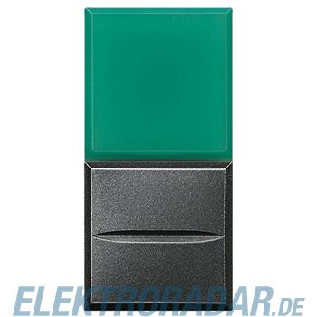 Legrand HS4038V/230 Axialtaster mit Beleuchtung 1-polig Schließer grün