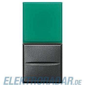 Legrand HS4038V/24 Axialtaster mit Beleuchtung 1-polig Schließer grün