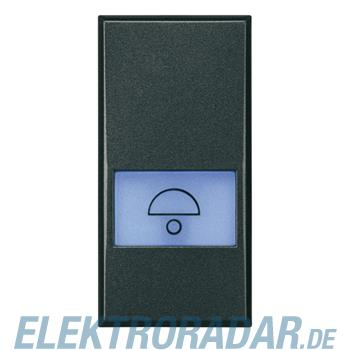 Legrand HS4042 Taster 1-polig Schließer 10A 250V AC mitSymbol Glo