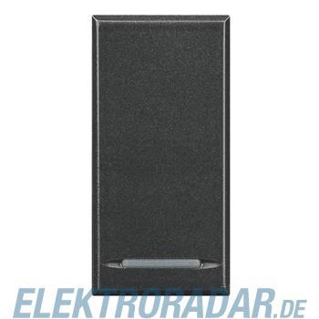 Legrand HS4051 Ausschalter 1-polig 16A 250V AC 1-modulig Anthrazi