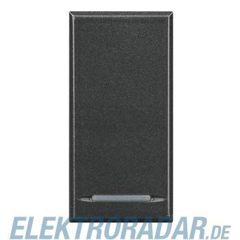 Legrand HS4055/2 Taster 1-polig Schließer 10A 250V AC 2-modulig Ant