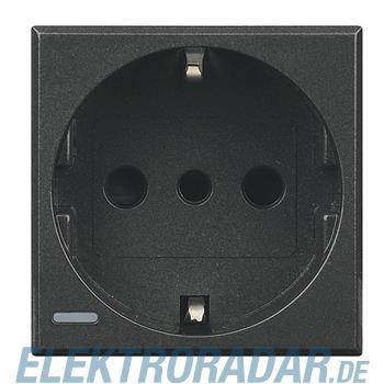 Legrand HS4140 Steckdose italienisch 2-polig+E 10A 250VAC, Schrau