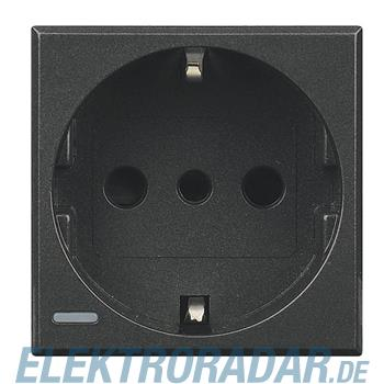 Legrand HS4140W Steckdose italienisch 2-polig+E 10A 250VAC, Steckk