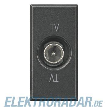 Legrand HS4202P TV-Durchgangsdose, 9,5 mm Durchmesser männlich, 1-