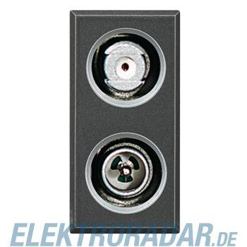 Legrand HS4214D TV-SAT-Kombisteckdose, gleichspannungsdurchlässig,