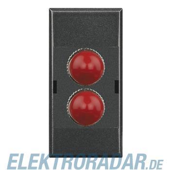 Legrand HS4268ST Glasfasersteckdose für ST Fiberoptik-Stecker duple