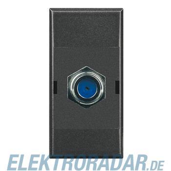 Legrand HS4269F Steckdose für F-Connector, Impedanz 75 Ohm, Schrau