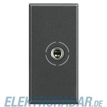 Legrand HS4280 Audio-Anschlussdose Jack 3,5 Anthrazit