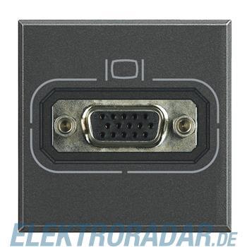 Legrand HS4282 Video-Anschlussdose HD15 Anthrazit