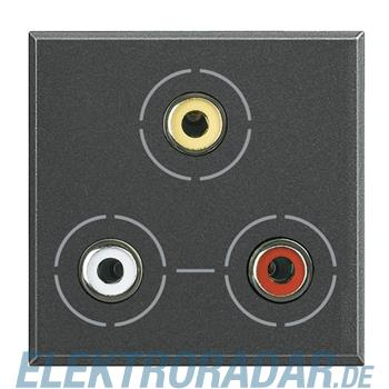 Legrand HS4283 Audio-/Video-Anschlussdose 3x RCA (Cinch)