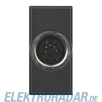 Legrand HS4292 Steckdose 5-pol DIN 180° Lötanschluss 1-modulig An