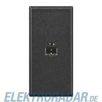 Legrand HS4293 Lautsprecherbuchse 2-pol DIN, Lötanschluss 1-modul