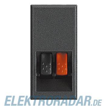 Legrand HS4294 Lautsprecherklemme 1-modulig Anthrazit