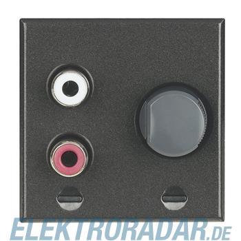 Legrand HS4560 Cinch-Line-Eingang zur Einspeisung externer Stereo