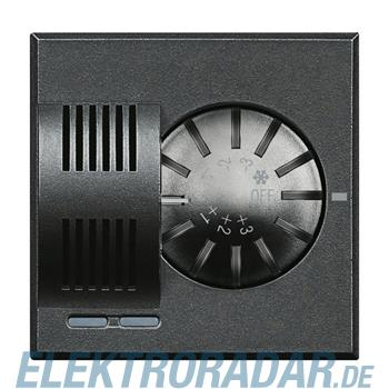 Legrand HS4692 Raumthermostat mit Stellrad Anthrazit