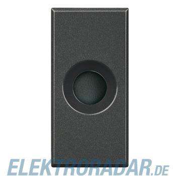Legrand HS4953 Kabelauslass 1-modulig Durchmesser 9 mmAnthrazit