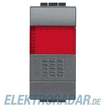 Legrand L4038R TASTER 1POLIG LEUCHTSIGNAL ROT
