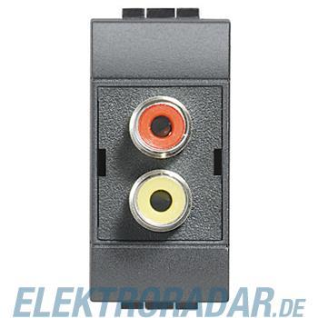 Legrand L4269R LAUTSPRECHERSTECKDOSE RCA