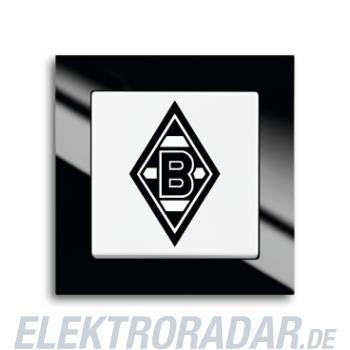 Busch-Jaeger Wechselschalter 2000/6 UJ/05 Borussia Mönchengladbach Fanschalter