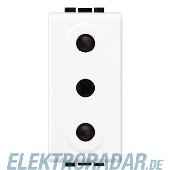 Legrand N4119 STECKDOSE 2P ITALI. NORM 250V