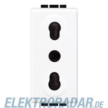 Legrand N4180 STECKDOSE 2P ITAL. NORM IMQ