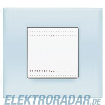 Legrand N4802BP RAHMEN 2MOD.OPALBLAU