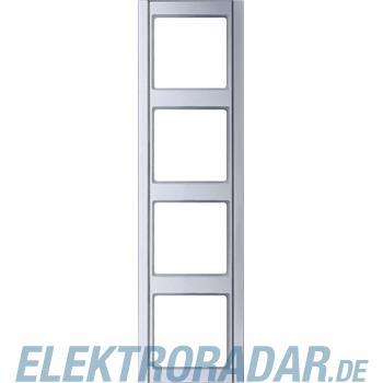 Jung Rahmen 4-fach alu A 584 AL