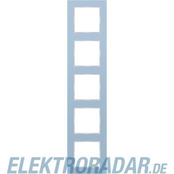 Jung Glasrahmen 5-fach bl/gr AC 585 GL BLGR