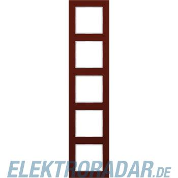 Jung Glasrahmen 5-fach rt AC 585 GL RT