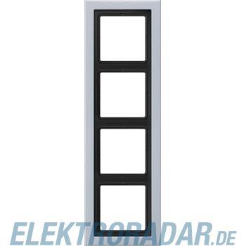 Jung Rahmen 4-fach alu lack ALD 2984-L