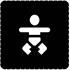Busch-Jaeger Piktogramm Baby-Wickelraum 2144/45-19