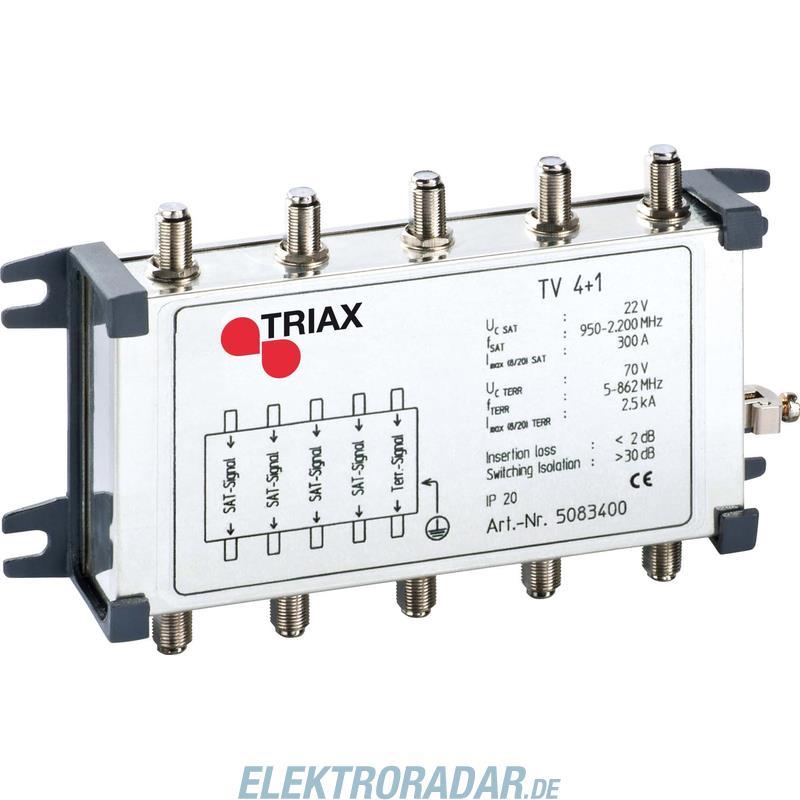 Triax Koaxiales Schutzgerät TV 4+1 389056