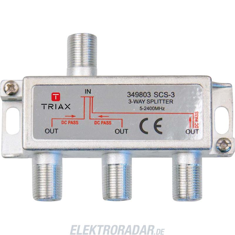 Triax Verteiler 3f. SCS 3