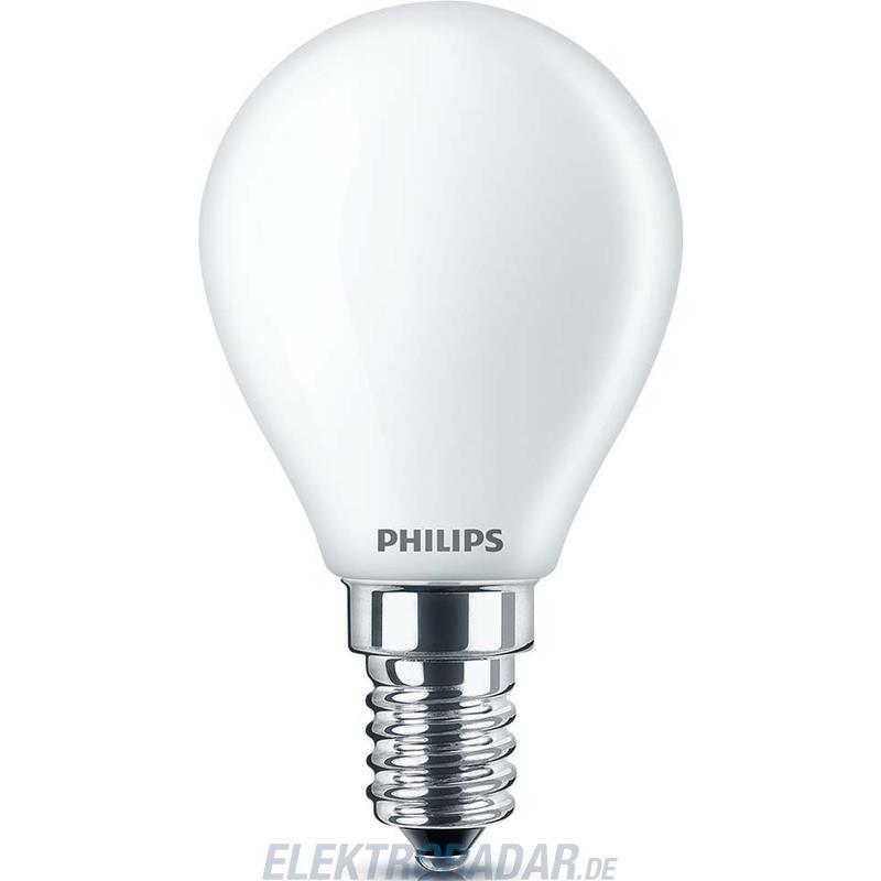 Philips LED-Tropfenlampe CLA LEDcand E14 4.3-40W 827 #70643500