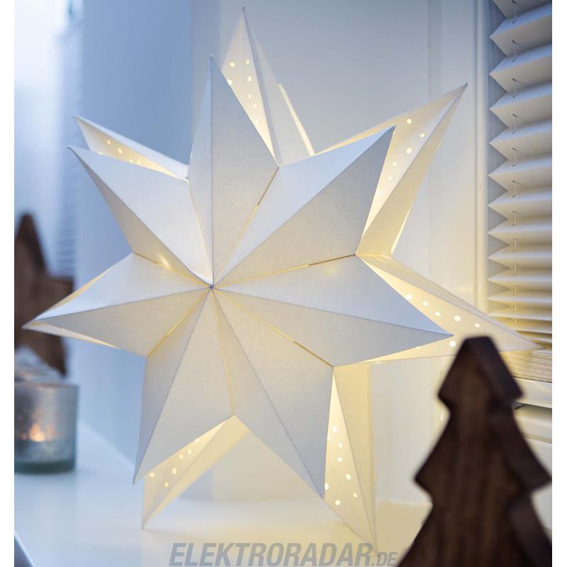 Hellum LED-Papierstern 578010