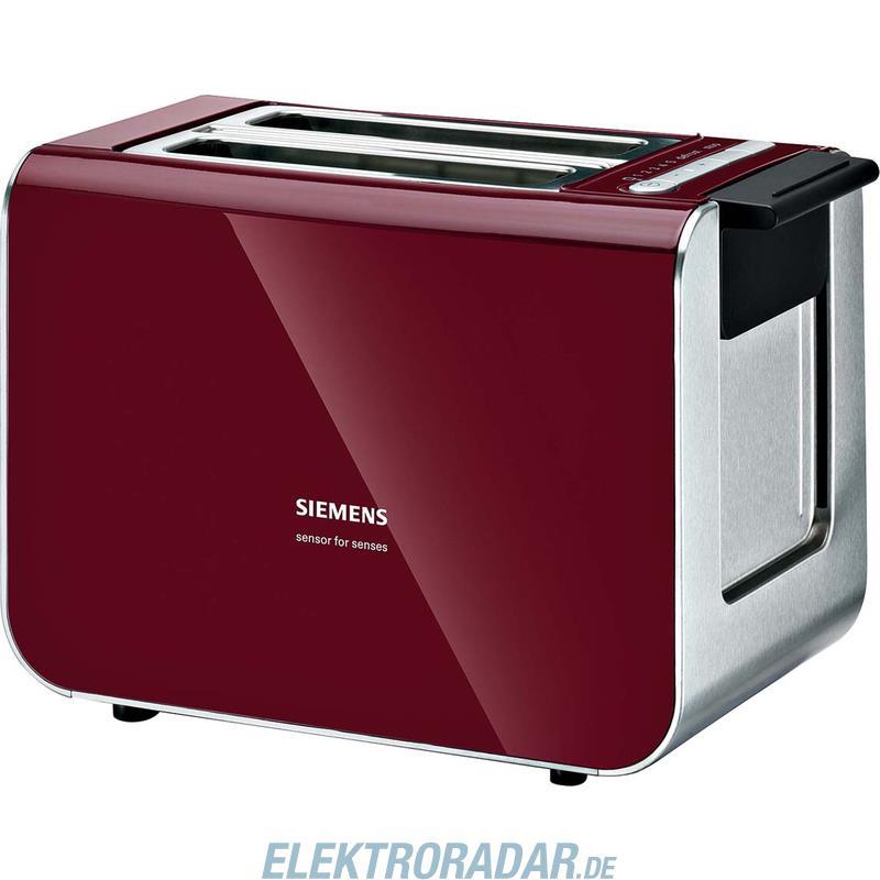 Siemens Toaster TT 86104cranb red/sw TT86104