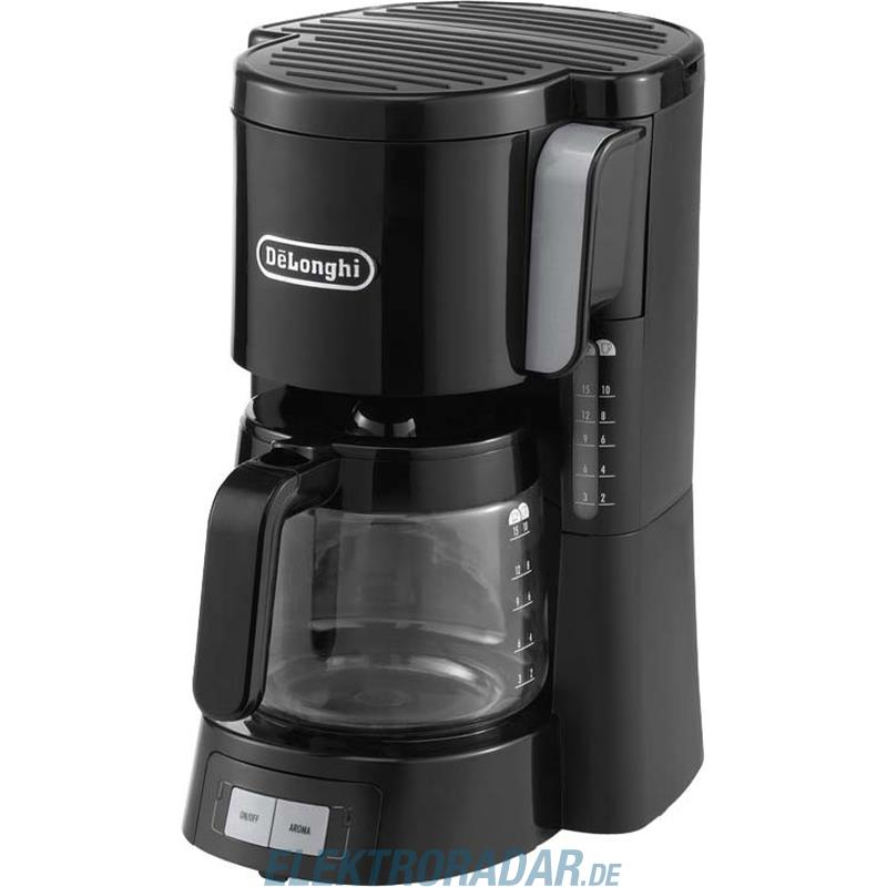 DeLonghi Filterkaffeemaschine ICM 15240 sw ICM15240