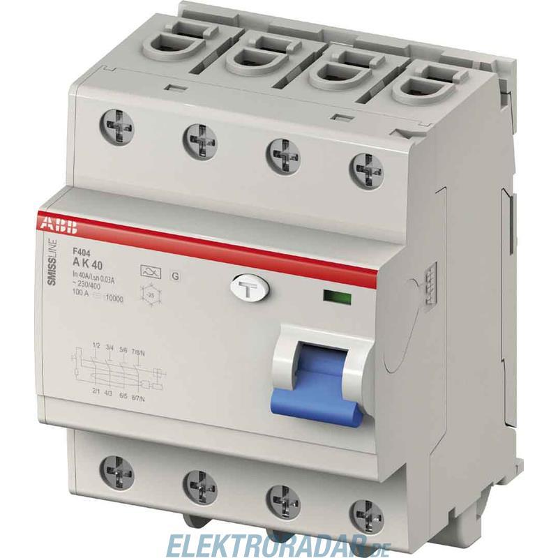 Abb stotz s j fehlerstromschutzschalter f404a25 - Interruptor diferencial precio ...