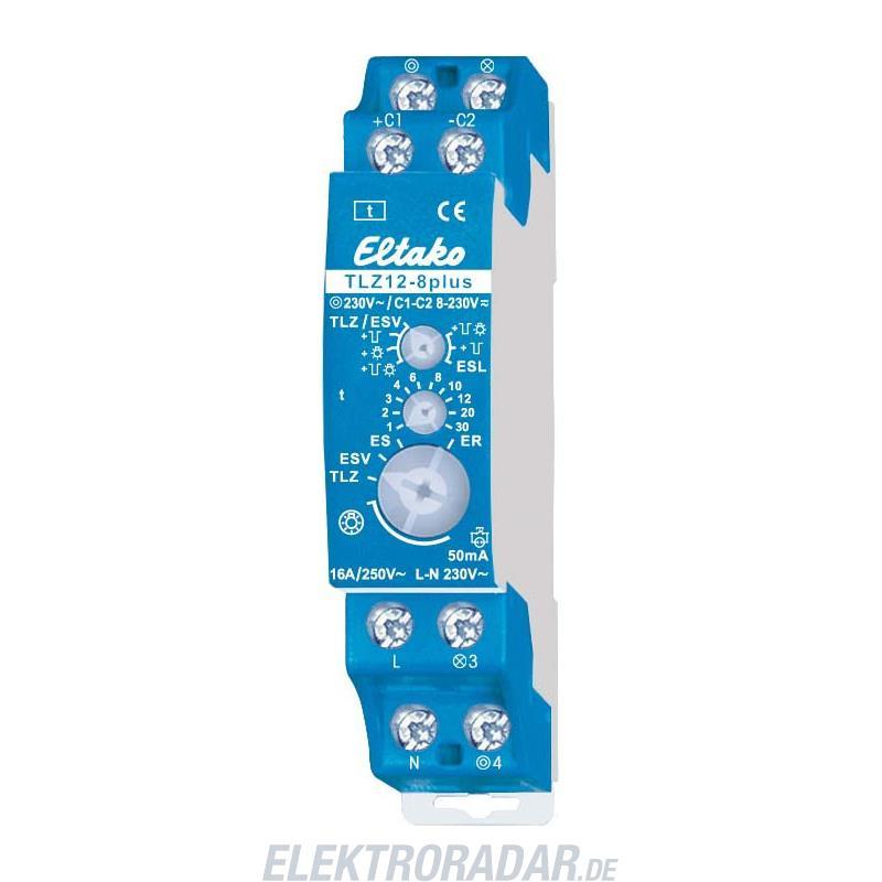 Eltako Treppenlichtzeitschalter TLZ12-8plus