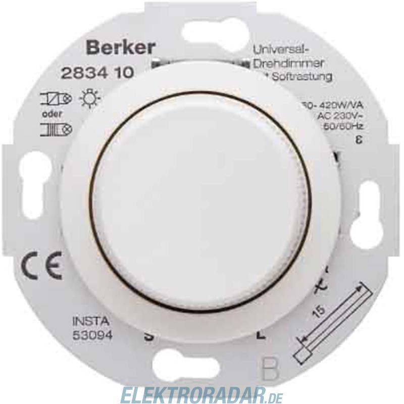 pws mit Softrastung 283410 Berker Universal-Drehdimmer polarweiß