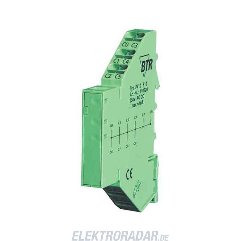 BTR Netcom Potentialverteiler PV 10 110720