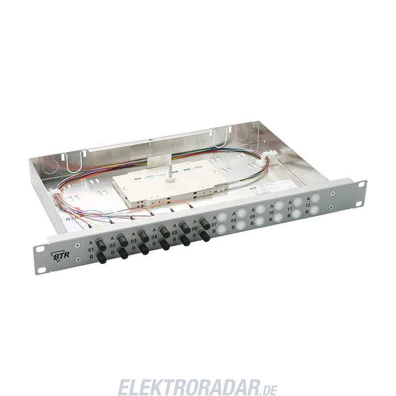 BTR Netcom 19 Zoll Spleißgehäuse OpDAT fix 6LC-D OM3 1502557306-E