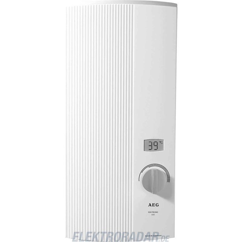 EHT Haustechn.AEG Durchlauferhitzer DDLE LCD 18/21/24 222394