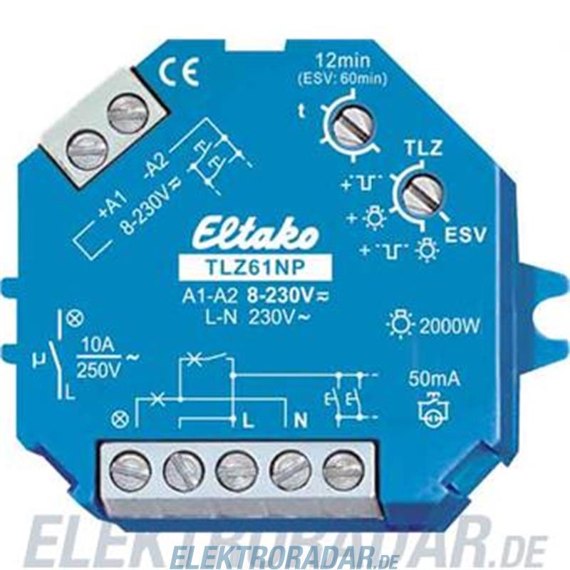 Eltako Treppenlichtzeitschalter TLZ61NP-230V+UC